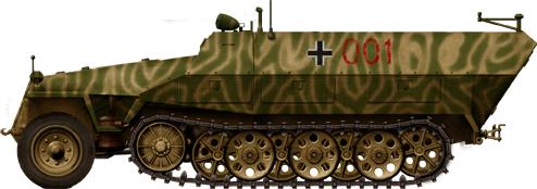 German Half Tracks SdKfz-251-3_II_ausf-D-Funkpanzerwagen_zps196581d9