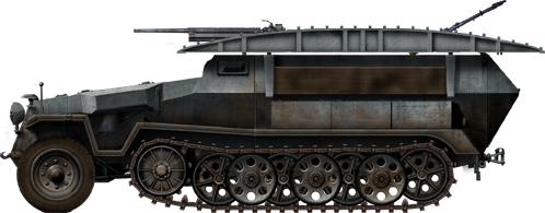 German Half Tracks SdKfz-251-7-II_Ausf_C_Pionierpanzerwagen_zps9b2ac585