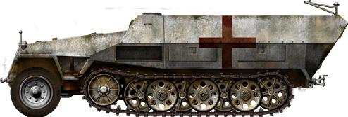 German Half Tracks SdKfz-251-8_Krankenpanzerwagen_zpsd40412aa