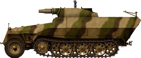 German Half Tracks SdKfz-251-9_Ausf-D_Stummel_zpscda19c01
