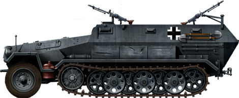 German Half Tracks SdKfz-251_Ausf_A_AA_zps5360ea5f