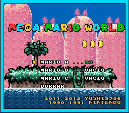 mega mario world F10929AF0