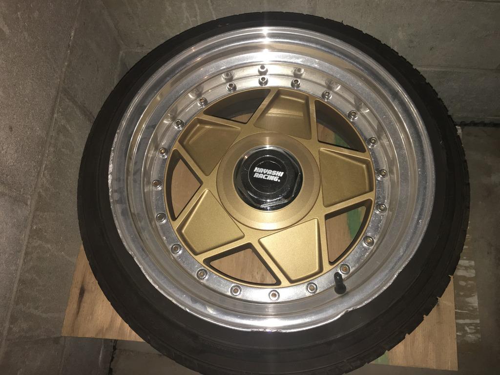 FS: Rare Hayashi Racing 505 16x8 +50 16x9 +37.5 w/tires 5C159127-8CEC-48DA-905B-F6959EB31C71_zpsvpmf6r2j