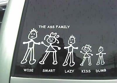 Bumper Sticker Funny-family-bumper-sticker1