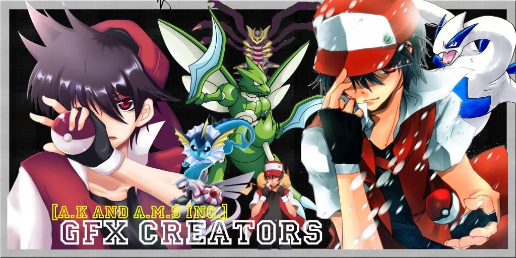 Random Signatures made by me. GFXCreators-pokemon