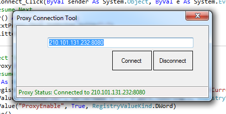 Create Your Own Proxy Connection Tool  2