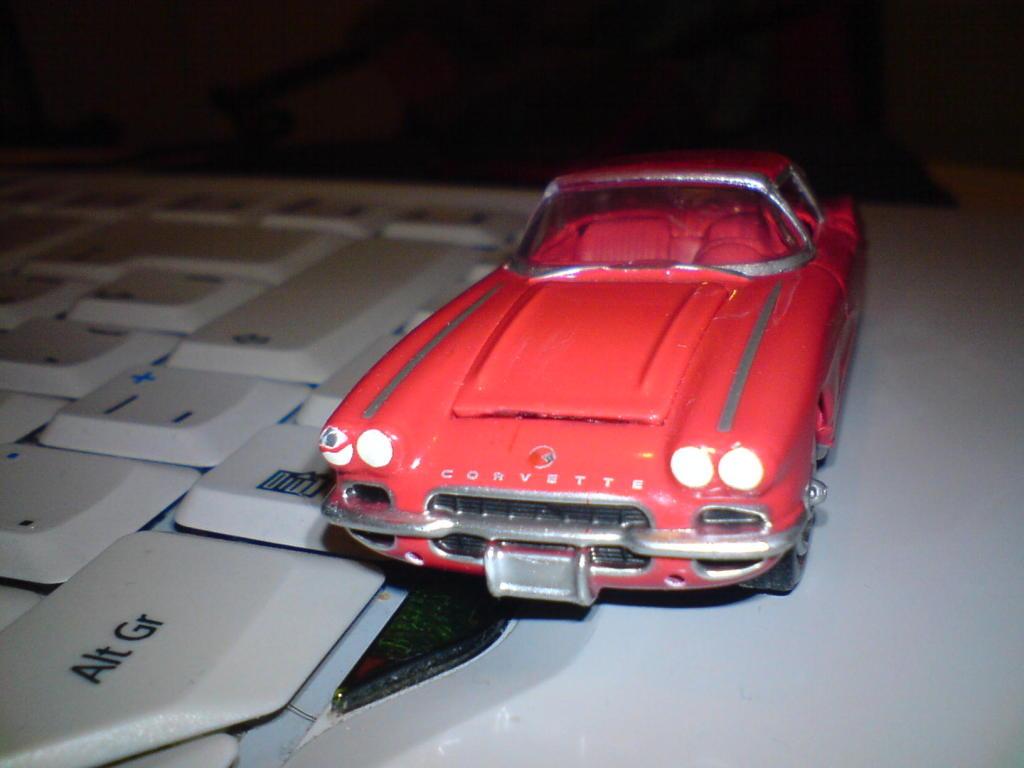 Chevrolet Corvette 1962 GreenLight DSC00035
