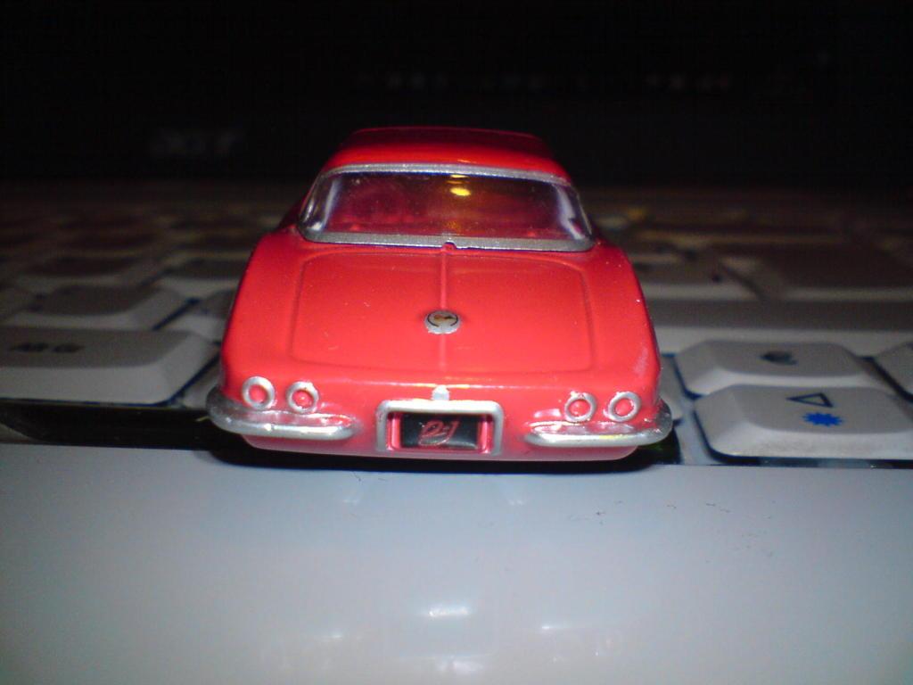 Chevrolet Corvette 1962 GreenLight DSC00037