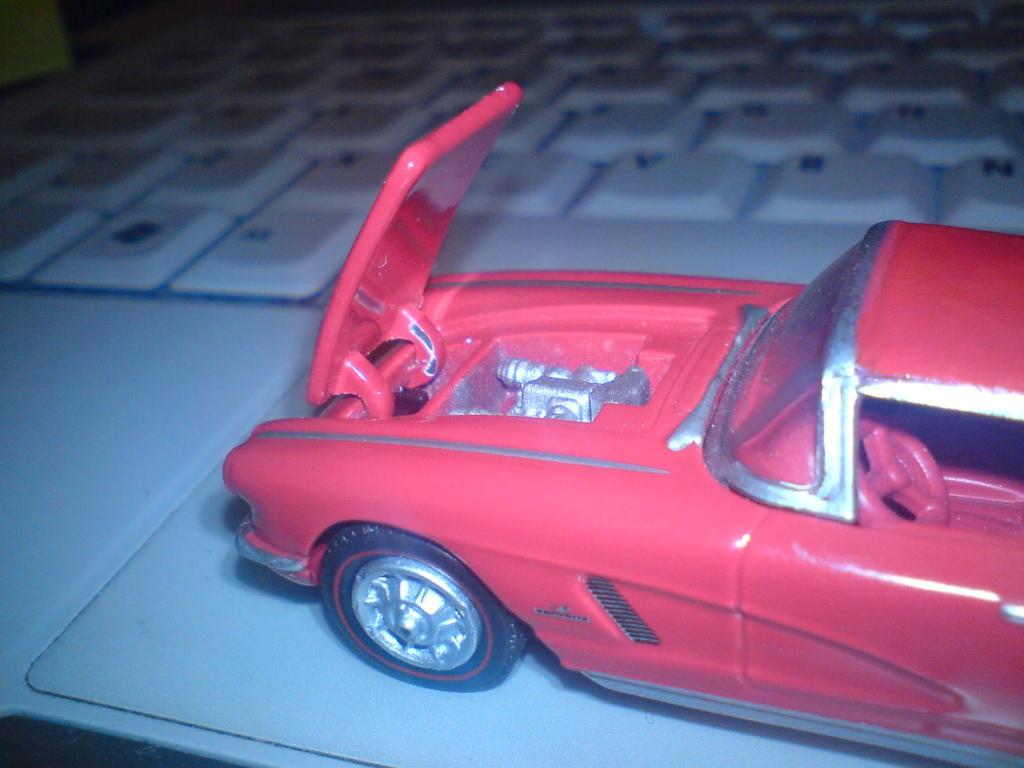 Chevrolet Corvette 1962 GreenLight DSC00043