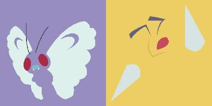 Poke-Headphone Pairs - Kanto Collection Butterfreebeedrill_zps6817758e