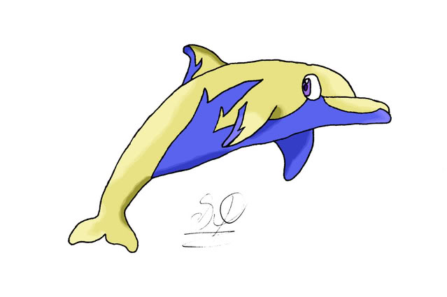 My.... Creatures....... Electrodolphincoloured