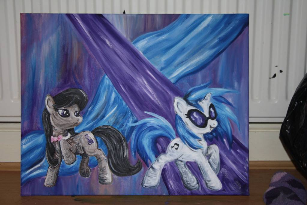 Pinkie Panda's Pony Paintings. IMG_4710
