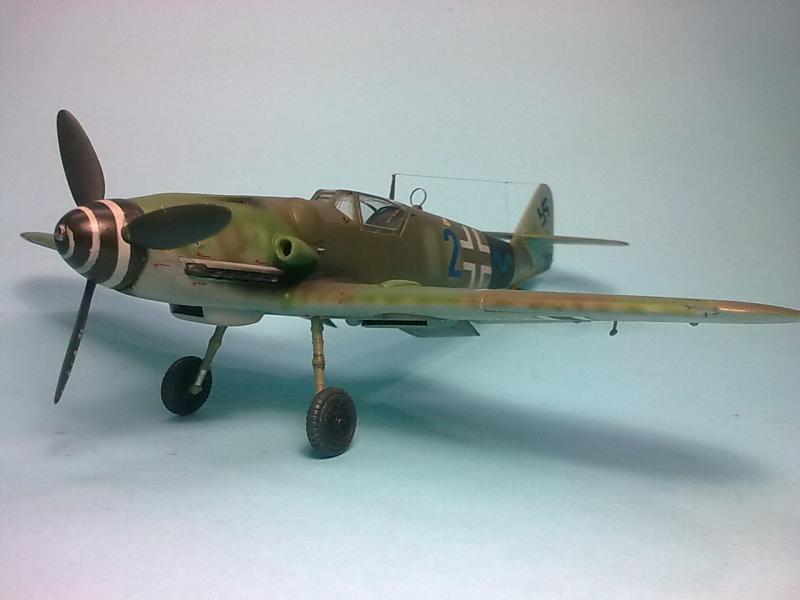 Bf 109 G-14 Alfred Michael-Fujimi Imagen6824