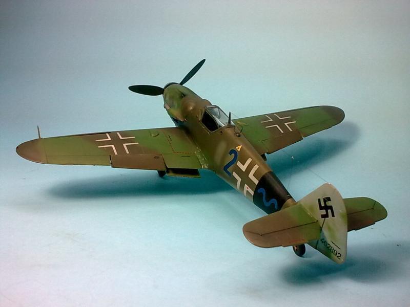 Bf 109 G-14 Alfred Michael-Fujimi Imagen6826