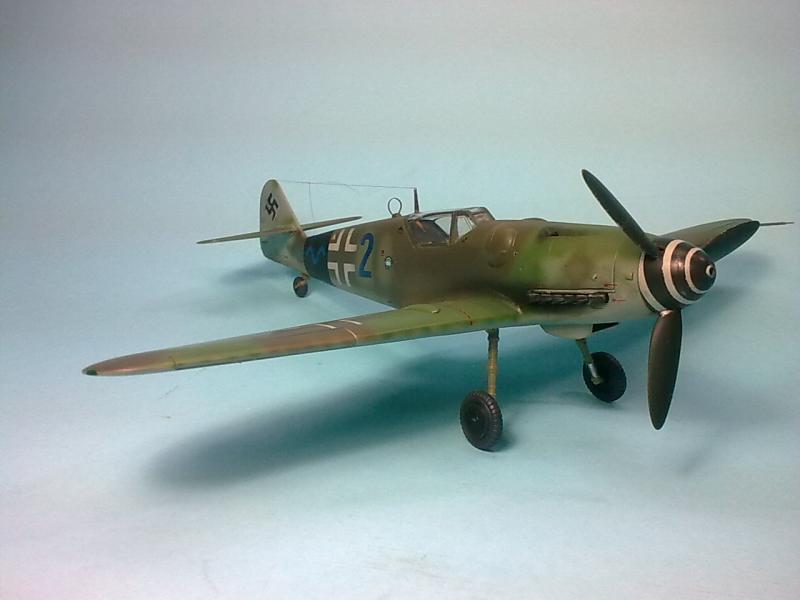 Bf 109 G-14 Alfred Michael-Fujimi Imagen6828