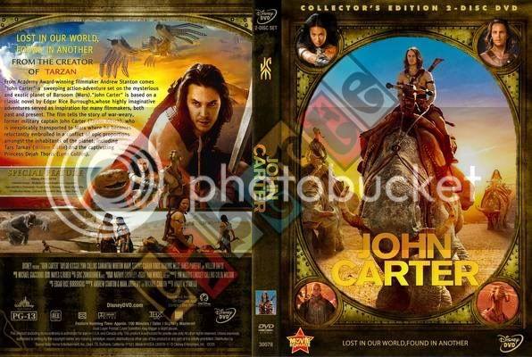 John Carter (2012) จอห์น คาร์เตอร์ นักรบสงครามข้ามจักรวาล [Jumbofiles][VCD Master][พากย์ไทย] JohnCarter-coverdvd