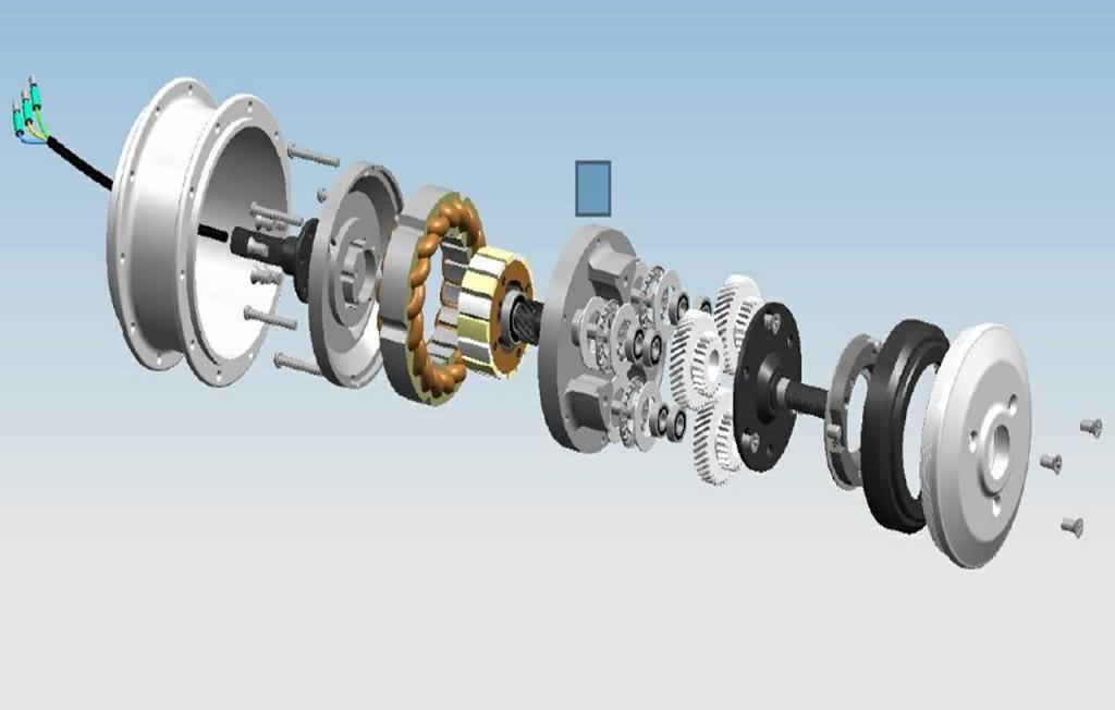 Desmontar motor Mxus 250 W para engrasar engranajes QSeriesEBikeHubMOTOR2012CAD_zps54a9b989