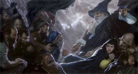 Artwork inspired by Tolkien Hobbitexpulsion
