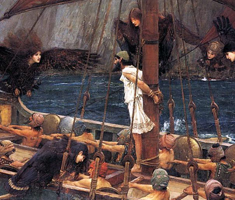 Dark Planet Day Challenge: Forumshire fanfic Ulysses-and-the-sirens-waterhouse