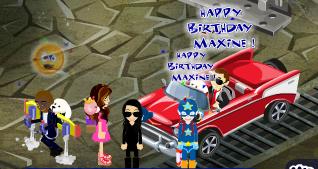 Happy Birthday Maxine!!! gift at her condo 2014 2014maxineBDayD_zps22f05be5
