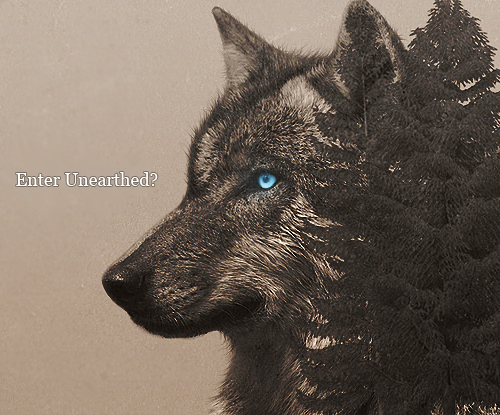 UNEARTHED - SEMI-REALISTIC WOLF RPG Unearthedadvert_zpsc63d8bc2