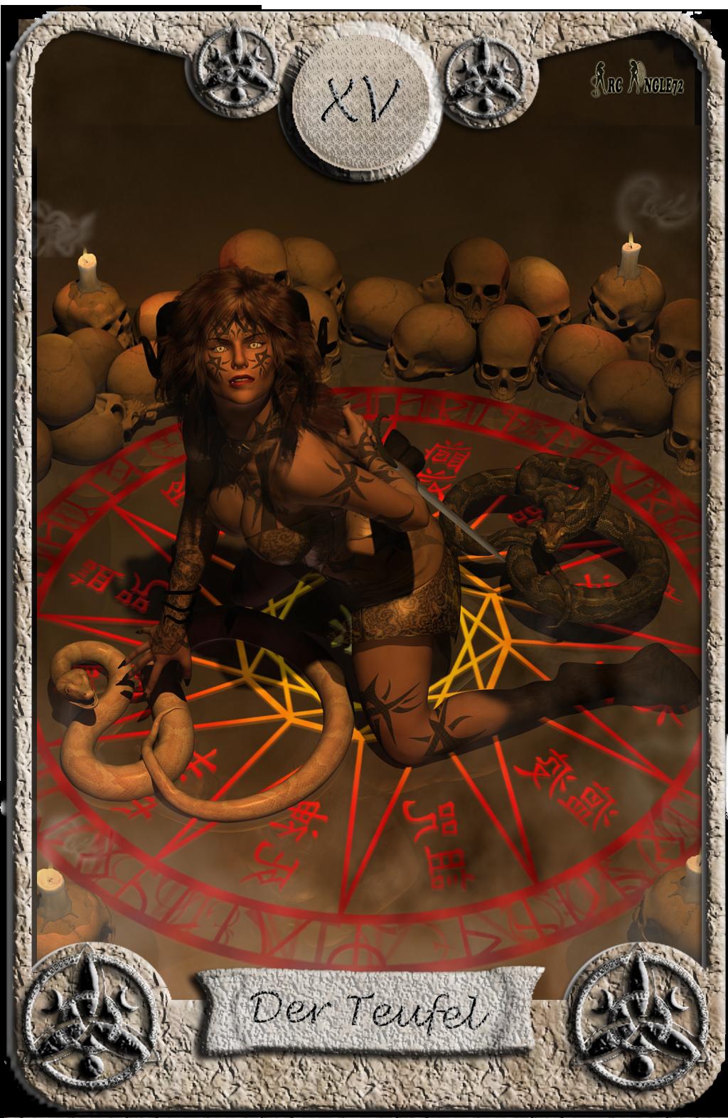 Abstimmung Battle Tarotkarten Tarotkarte_Der_Teufel