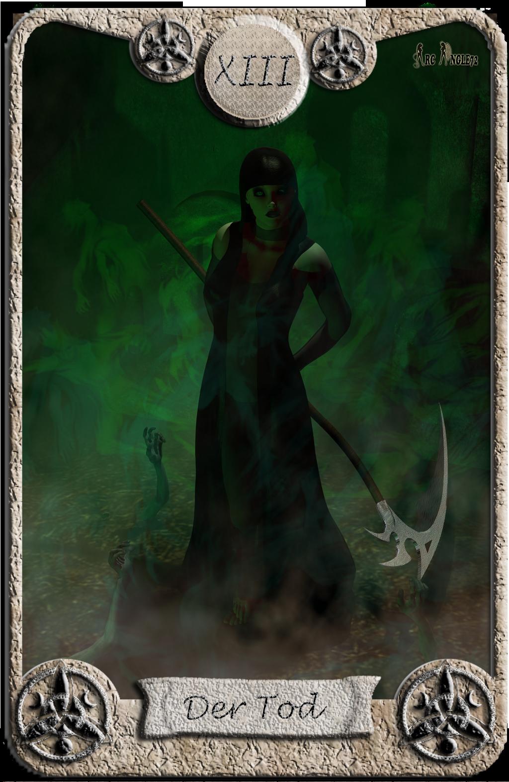 Abstimmung Battle Tarotkarten Tarotkarte_Der_Tod