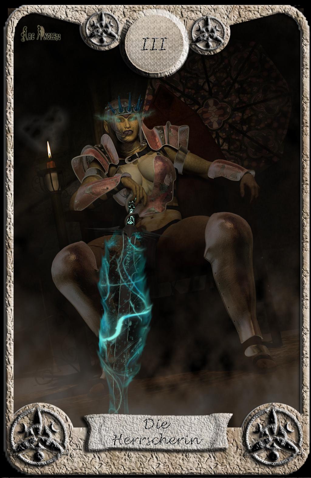 Abstimmung Battle Tarotkarten Tarotkarte_Die_Herrscherin