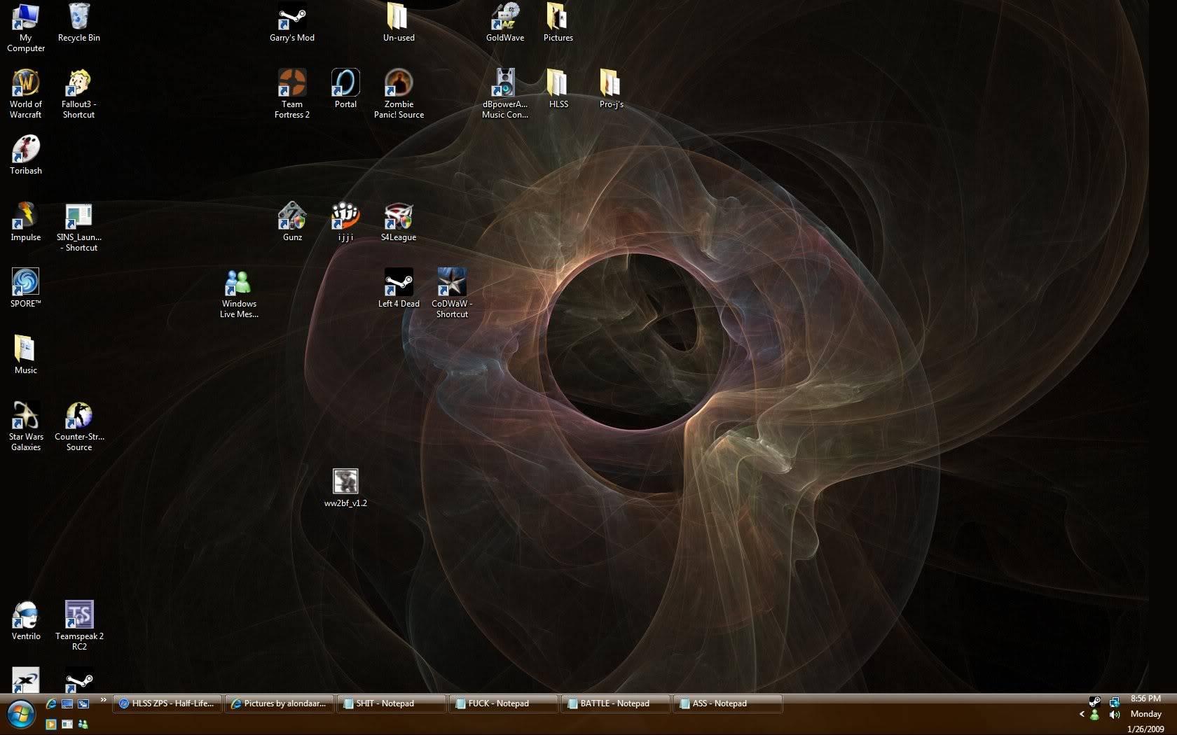 Post Yer Desktop Pics Desktop
