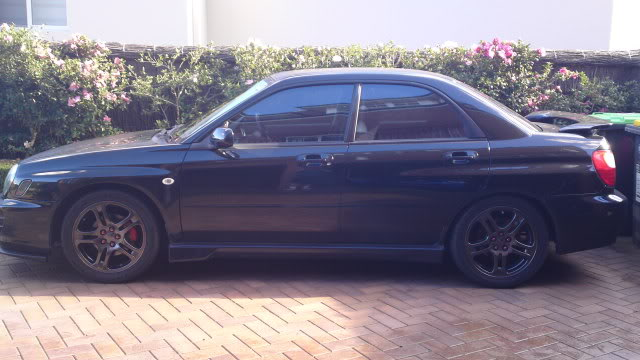 SOLD: MY02 Subaru Impreza RS 15062010271