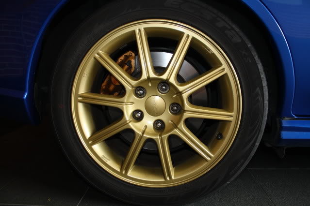 SOLD: 05 Sti Wheels X4, 5x114.3 17x8 - suit 05+ STI IMG_4602