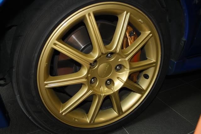 SOLD: 05 Sti Wheels X4, 5x114.3 17x8 - suit 05+ STI IMG_4604