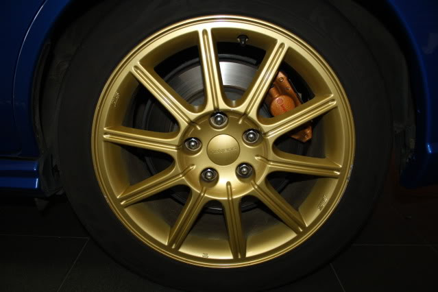SOLD: 05 Sti Wheels X4, 5x114.3 17x8 - suit 05+ STI IMG_4606