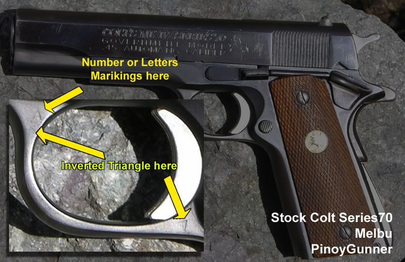 Tips on buyng COLT 1911's Gunauthenticcopy