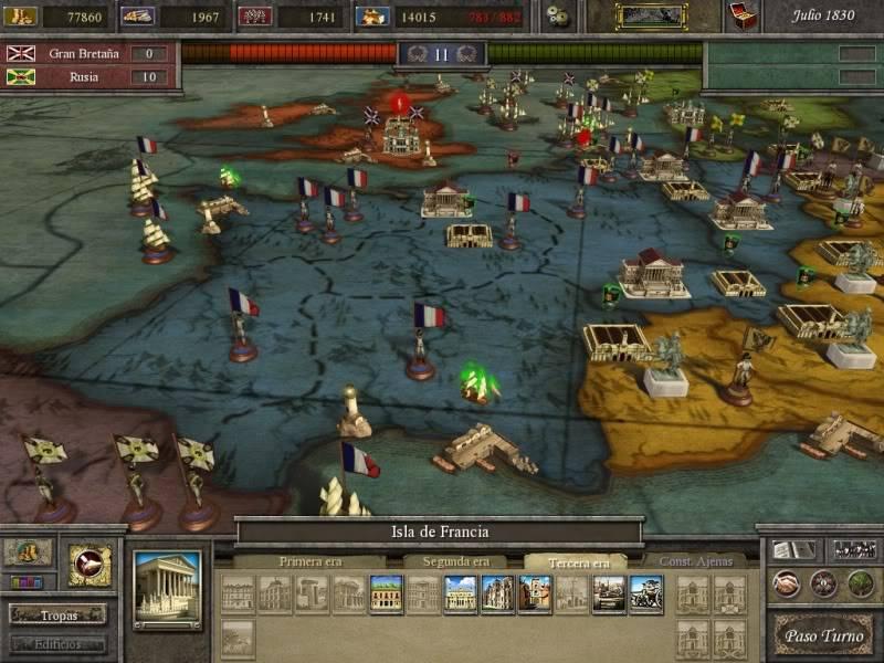 Pantallazos de Imperios del Rome Imperial_2