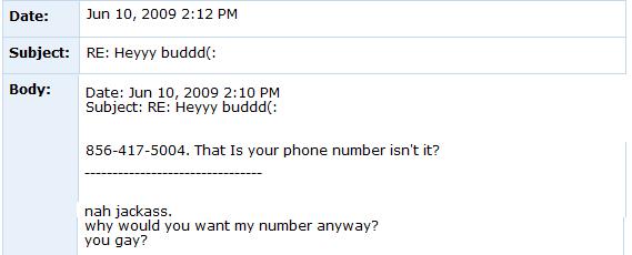 Internet Tough Guy on Myspace ITG2