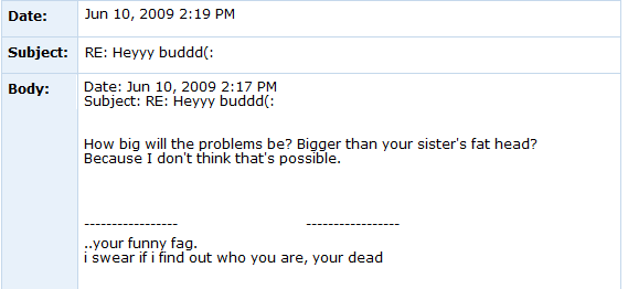 Internet Tough Guy on Myspace ITG4
