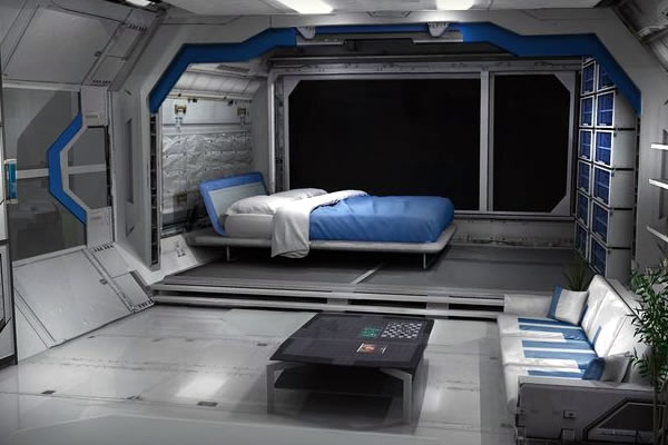 Equipamentos, Dispositivos, Veículos e Instalações Medusozoa-Bedrooms
