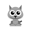 Hightlight and copy and paste Cat-icon