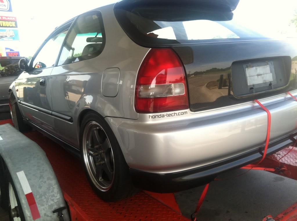 2000 Honda civic DX build 365