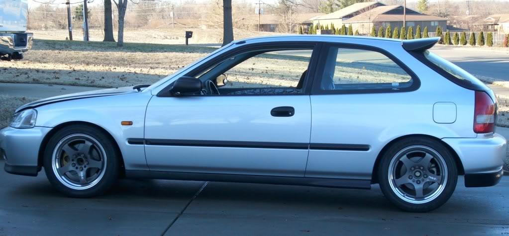 2000 Honda civic DX build H4