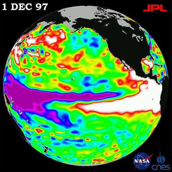 AMO,PDO,ENSO,QBO,NAD,AO,PNA. What the Hell does it all mean?  600px-1997_El_Nino_TOPEX