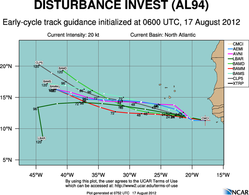 TROUBLE IN THE TROPICS, Coming Soon to a Body of Water near you..... - Page 2 Aal94_2012081706_track_early