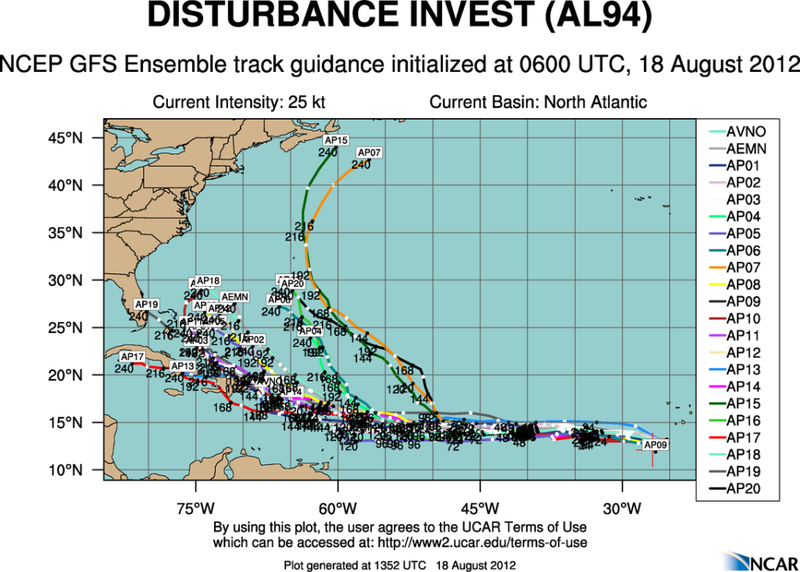 TROUBLE IN THE TROPICS, Coming Soon to a Body of Water near you..... - Page 2 Aal94_2012081806_track_gfs