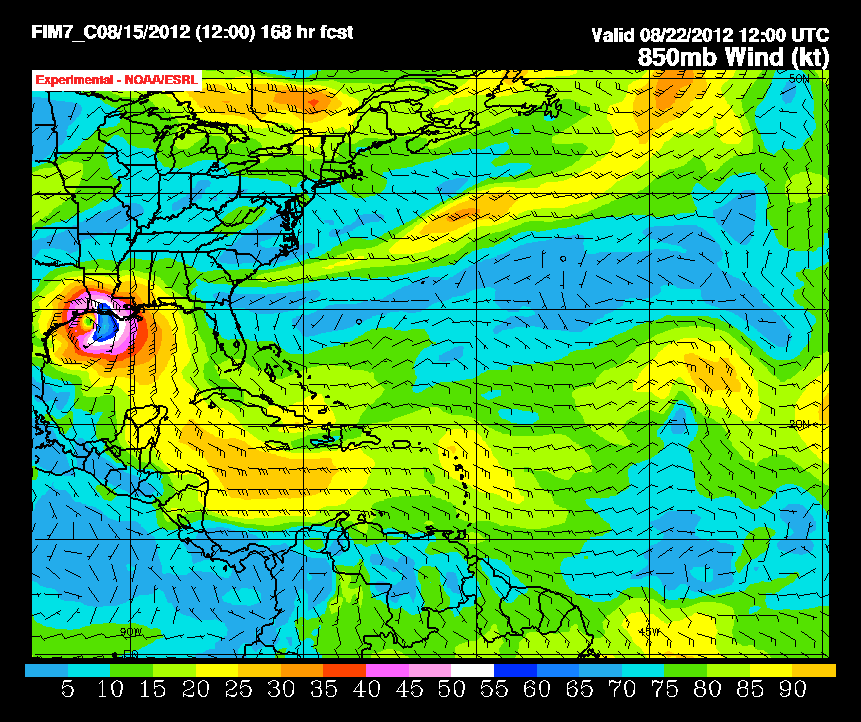 TROUBLE IN THE TROPICS, Coming Soon to a Body of Water near you..... Wind_850_f168
