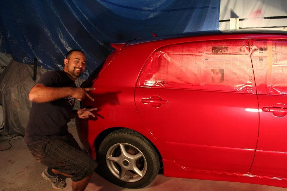 4ageboi's car painting garage..... 22