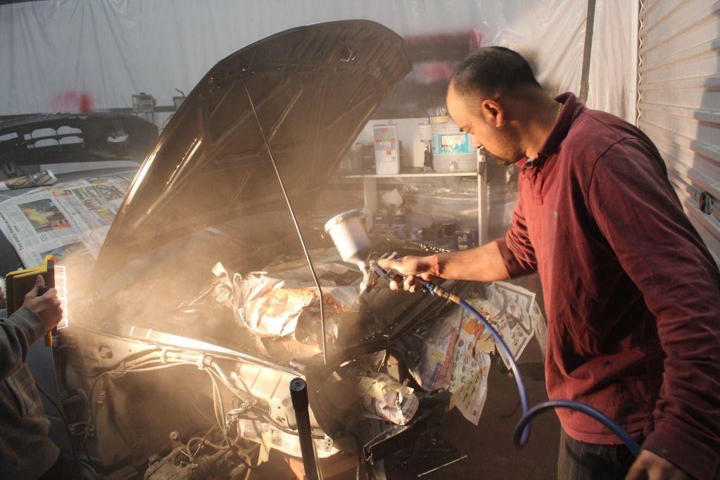 4ageboi's car painting garage..... IMG_1235