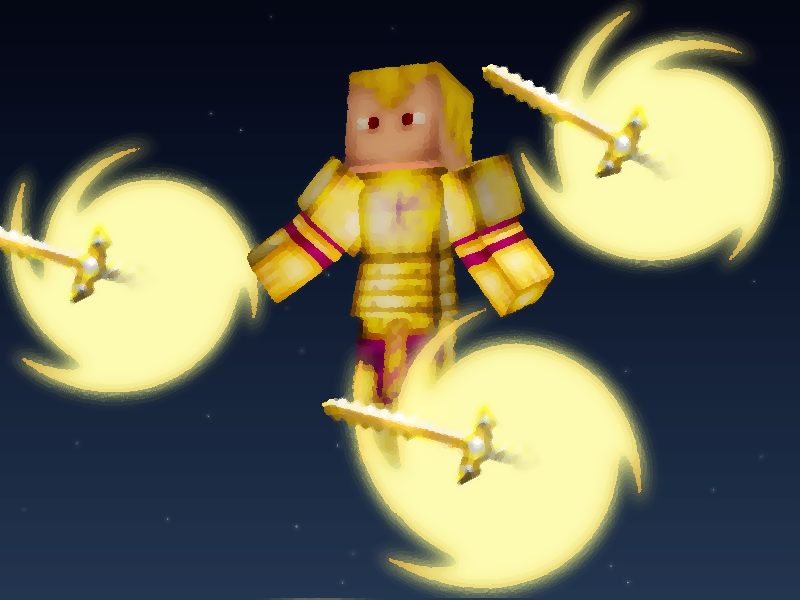 Minecraft Render results Archer-2