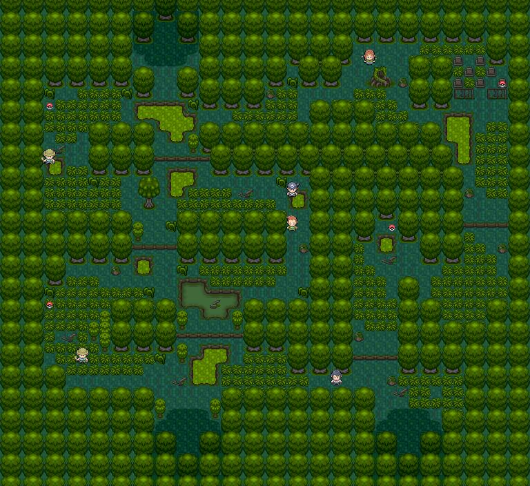 Some Pokemon Maps AvianWoods_evt
