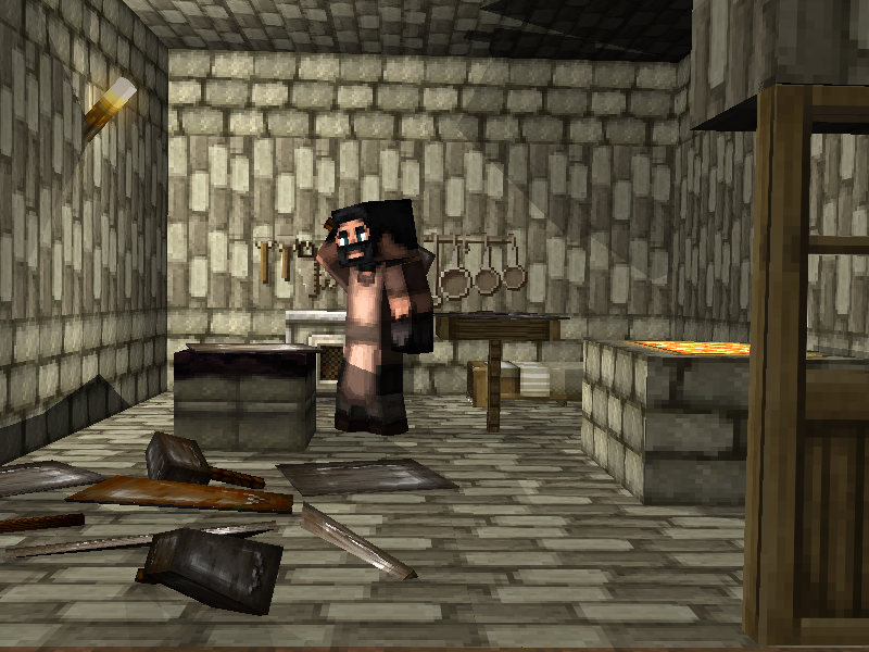 Minecraft Render results BlacksmithWorking-1